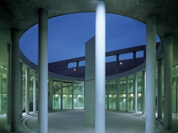 Fabrica for Benetton by Tadao Ando_Francesco Radino/Agor� by night