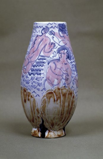Raoul Dufy/Llorens Artigas_Vase with women bathers and shell fish_adagp