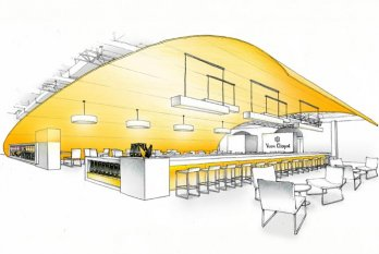 Bar restaurant design-lounge_Sketch
