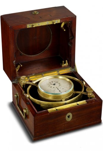 No. 3196, a twin-barrel marine chronometer
