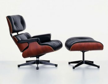 Charles U0026 Ray Eames_Eames Lounge Chair U0026 Ottoman, 1956_Hans Hansen_Vitra  Collection AG_Germany