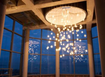 works omer arbel. Omer Arbel_1.4 Pendant Lights_Penthouse, Vancouver Works Arbel